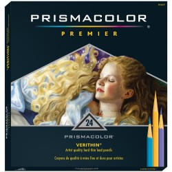 Prismacolor Premier Colored Pencil 24 Verithin