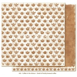 """Smell of Coffee 12""""x12"""" Coffee in the Arbour Maja Design"""
