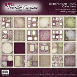 "Raindrops On Roses Collection 12"" x 12"" Heartfelt Creations"