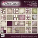 """Raindrops On Roses Collection 12"""" x 12"""" Heartfelt Creations"""