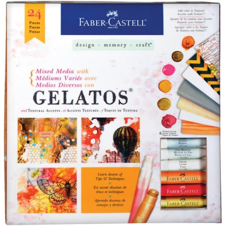 Mixed Media With Gelatos Kit Faber Castell