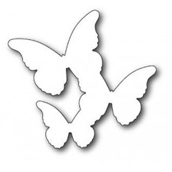 Floating Butterflies Background Memory Box Die