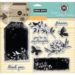 Forever Cling Stamps Hero Arts