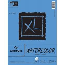 """XL Watercolor Paper Pad Canson 9""""x12"""" 300 g"""