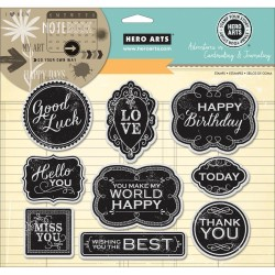 Good Luck Cling Stamps Hero Arts