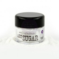 White Art Ingredients Art Sugar Ultra Fine Glitter 21 oz