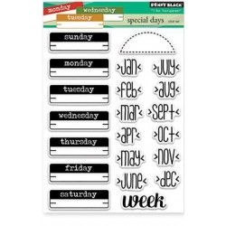 "Special Days Clear Stamps 5""x6,5"" Penny Black"