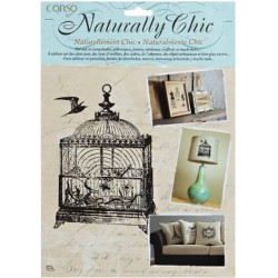 Birdcage Wrights Naturally Chic Iron-On Transfers