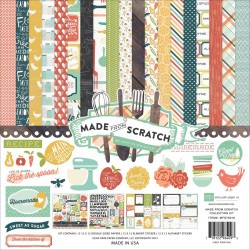 """Made From Scratch Collection Kit 12""""x12"""" Echo Park"""