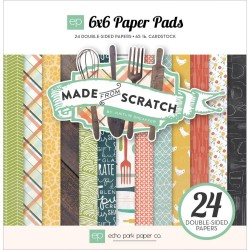 """Made From Scratch 6""""x6"""" Paper Pads Echo Park"""