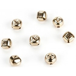 Gold Jingle Bells 6 mm 144 Pkg