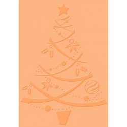 Festive Tree Craft C. Embossing Folder