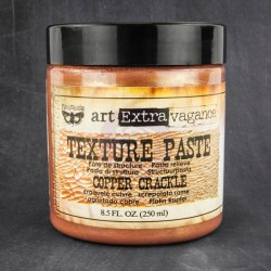 Copper Crackle Texture Paste Extravagance Prima Marketing