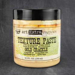 Gold Crackle Texture Paste Extravagance Prima Marketing
