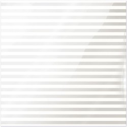 """White Stripe Clearly Bold Acetate Sheets 12"""" x 12"""""""