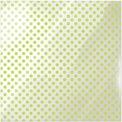 "Neon Green Dot Clearly Bold Acetate Sheets 12"" x 12"""