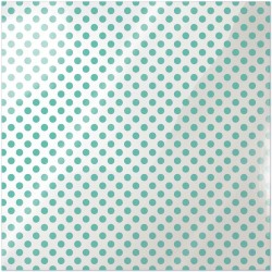 "Neon Teal Dot Clearly Bold Acetate Sheets 12"" x 12"""