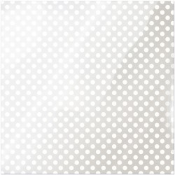 "White Dot Clearly Bold Acetate Sheets 12"" x 12"""
