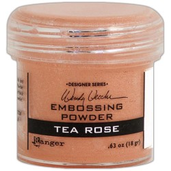 Tea Rose Wendy Vecchi Embossing Powders Ranger