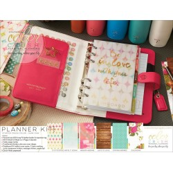 Dark Pink Color Crush Personal Planner Kit Webster's Pages