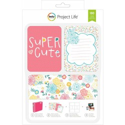 Super Cute Project Life Kit 180 Cards American Crafts