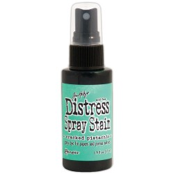 Cracked Pistachio January Distress Spray Stains 1.9 oz Bottle Tim Holtz