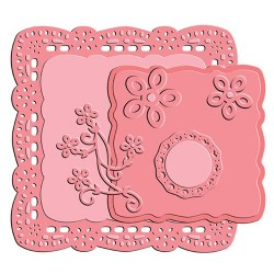 Darling Square Set Die by Little Darlings Spellbinders