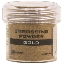 Gold Embossing Powder Ranger