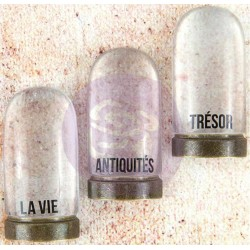 "La Vie Cloches Metal & Resin 3"" 3 Pkg Memory Hardware Embellishments Prima Marketing"