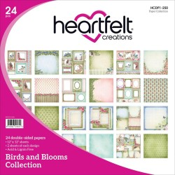 "Birds & Blooms Collection 12"" x 12"" Heartfelt Creations"