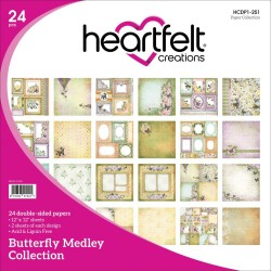 "Butterfly Medley Collection 12"" x 12"" Heartfelt Creations"