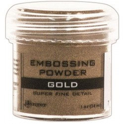 Gold Super Fine Embossing Powder Ranger