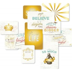 Adventure Edition Project Life Specialty Foil Card 12 Pkg American Crafts