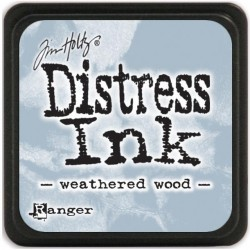 Weathered Wood Distress Mini Ink Pads Tim Holtz