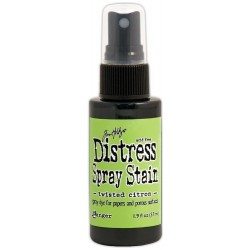 Twisted Citron May Distress Spray Stains 1.9 oz Bottle Tim Holtz