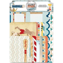 Boardwalk Misc Me Journal Contents Bo Bunny