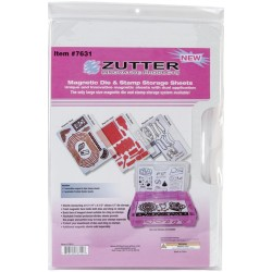 Magnetic Die & Stamp Storage Sheets Zutter