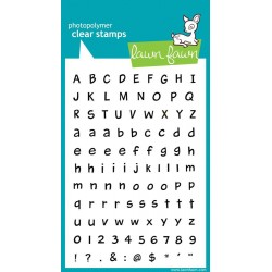 """Harold's ABCs Clear Stamps 4""""x6"""" Lawn Fawn"""