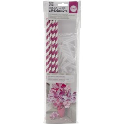 Fuchsia Pinwheel Attachments We'R Memory Keepers
