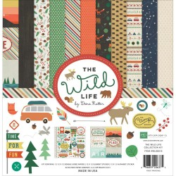"The Wild Life Collection Kit 12""x12"" Echo Park"
