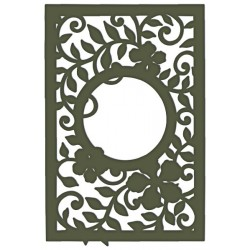 Decorative Leafy Frame Heartfelt Creations