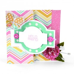 Card Ornate Flip-its Movers & Shapers Bigz L Die Sizzix