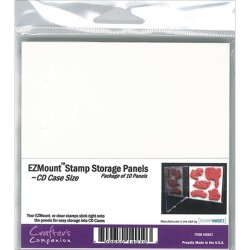 "4,75""x4,75"" EZMount Stamp Storage Panels 10 Pkg"