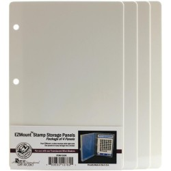 "5,75""x8,5"" EZMount Stamp Mini Storage Panels 4 Pkg"