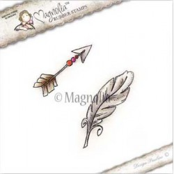 Boho Arrow & Feather - BH-15 Magnolia