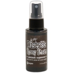 Ground Espresso August Distress Spray Stains 1.9 oz Bottle Tim Holtz