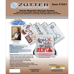 Zutter Handy Magnetic Die & Stamp Storage