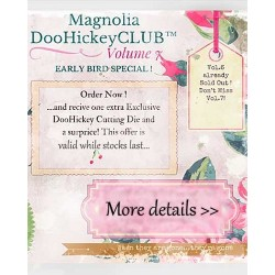 Volume 7 Club Magazine Doohickey Magnolia