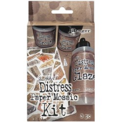 Distress Paper Mosaic Kit by Tim Holtz Ranger