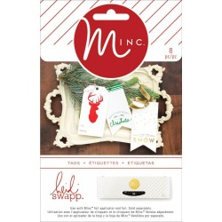 Spectacular Tags Minc Collection 21 Pkg Heidi Swapp American Crafts